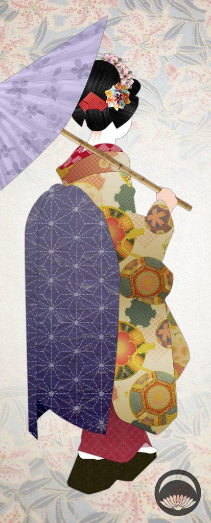 Washi Papercraft Maiko