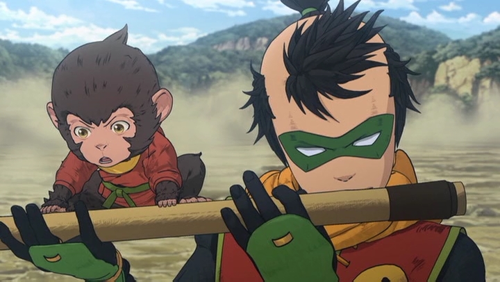 Movie Review Batman Ninja 着物月 Kimono Tsuki